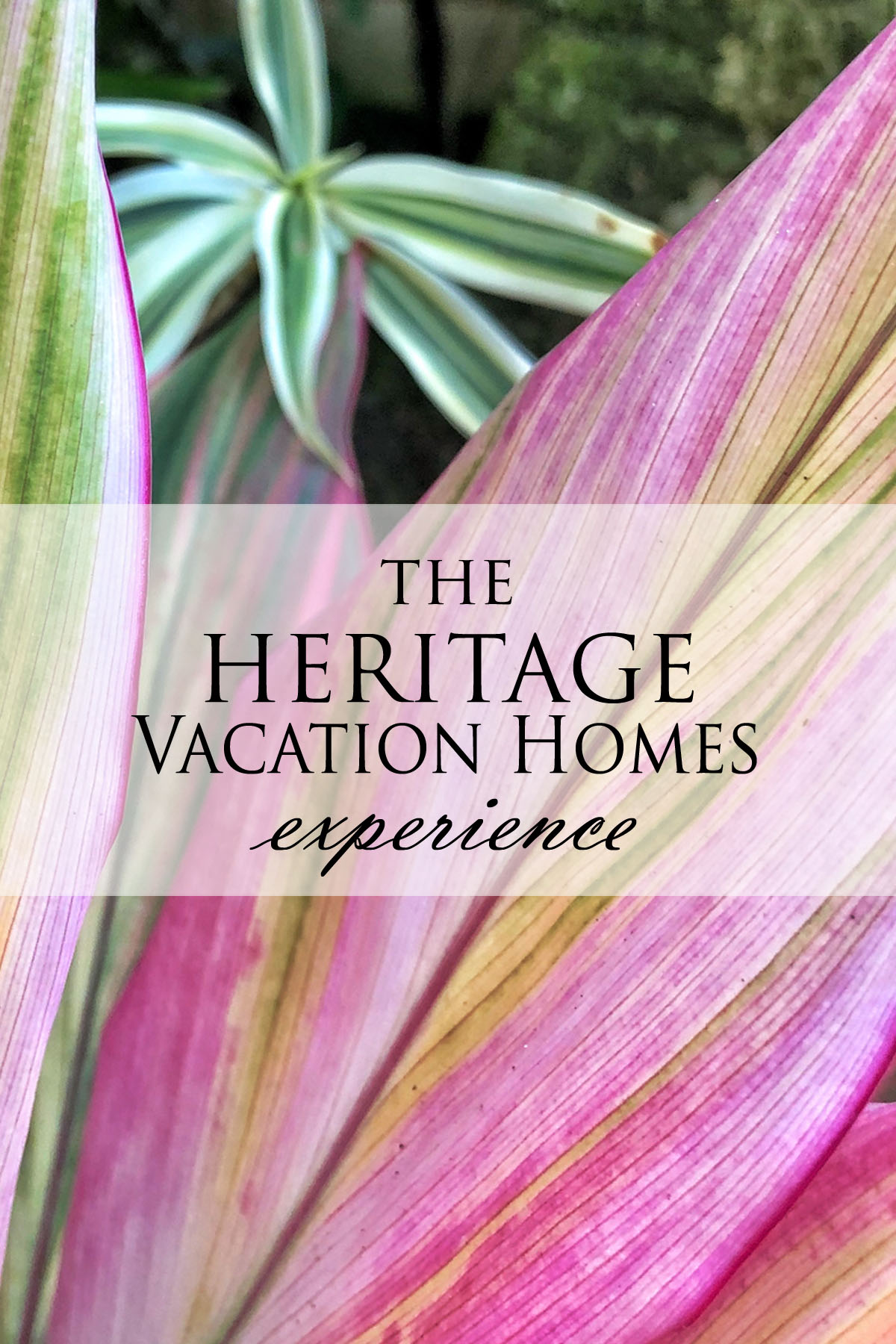 The Heritage Vacation Homes Experience