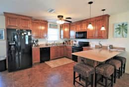 Spacious Kitchen with lots of extras!
