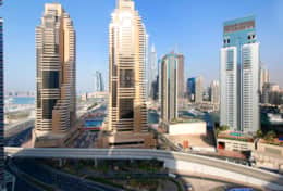 Enjoy the views of the world famous Dubai Marina from the balcony