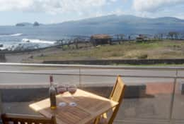 Balcony view towards Faial