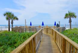 Largo Mar Beach Walkway