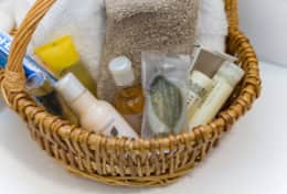 amenities basket
