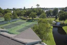 Tennis Courts are 1 of many included amenities
