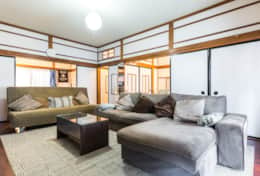 Large living space |Samurai House Tokyo Family Stays |Spacious