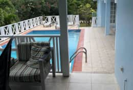 Pool from patio