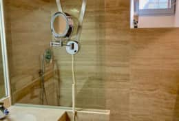 Villa Silvigliano modern bathrooms with rain shower
