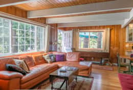 Great Family Room to relax after a long day of skiing or enjoying the lake