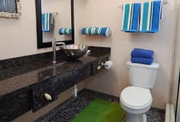 37 Renovated Bathroom with Walk-in Shower