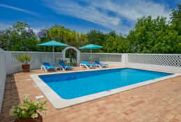Casa Alegre private heated pool with gated access