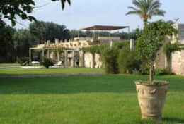 Casino Pisanelli - view from the garden - Ruffano - Salento