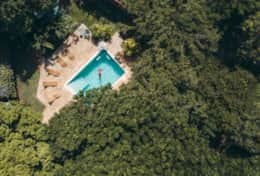 Aerial view Mondi Lodge
