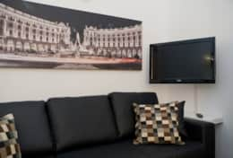 Sofa in the living room, vacation rental in Rome