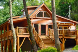 Creekside at High Rock 2 Bedroom Log Cabin with