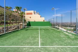 Private padel tennis court