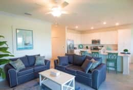 Condo - family room and kitchen 1