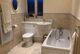 Ensuite and family bathroom