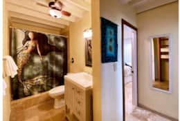 Shared bathroom between Bdrm #2 & #3