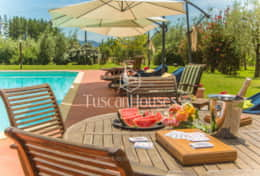VILLA DE FIORI-Tuscanhouses-Villa with pool close to Florence-Holiday rental097