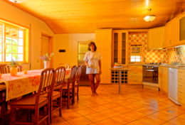 Dining Room and American Kitchen