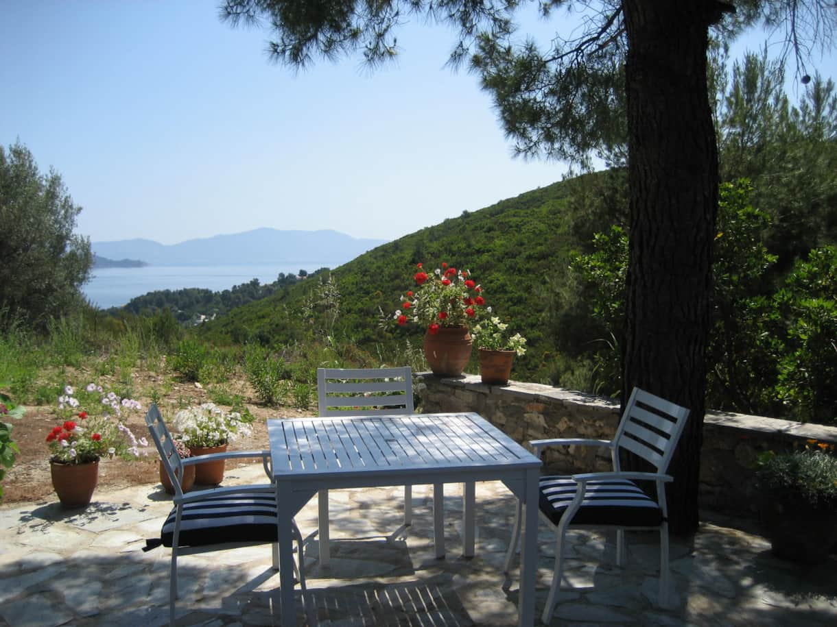 See Skopelos from Small Terrace
