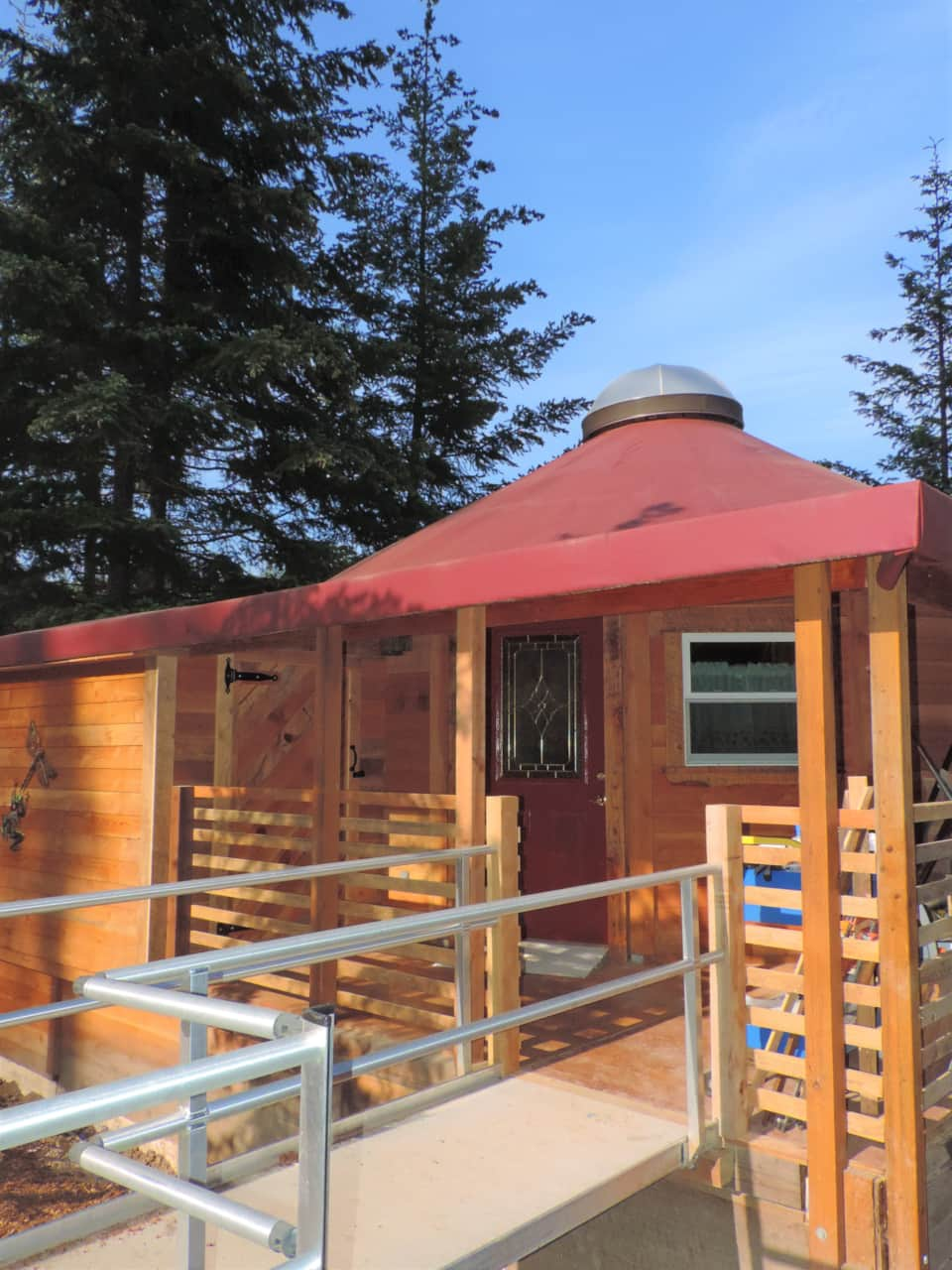 The Yurt at Rivendell Vacation Rental - Vacation Home in White Salmon