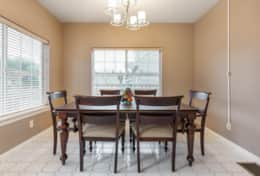 Large Dining table seats 6