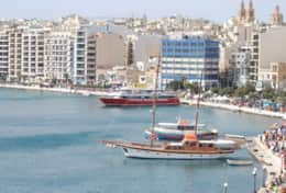 The area just 1 minute away! Sliema Ferry