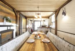 Dining - www.oldchurchcottages.com - Boundary Creek,NB Location - Photo credits: Daniel StLouis