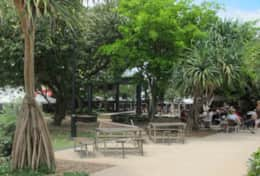 Peregian beach village town square - childfirendly space