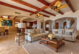LIVING ROOM. Beachfront Private Villa Vacation Rentals Los Cabos