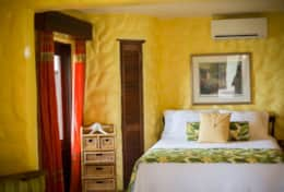 The Ginger Suite (Queen) is one of the most private suites.