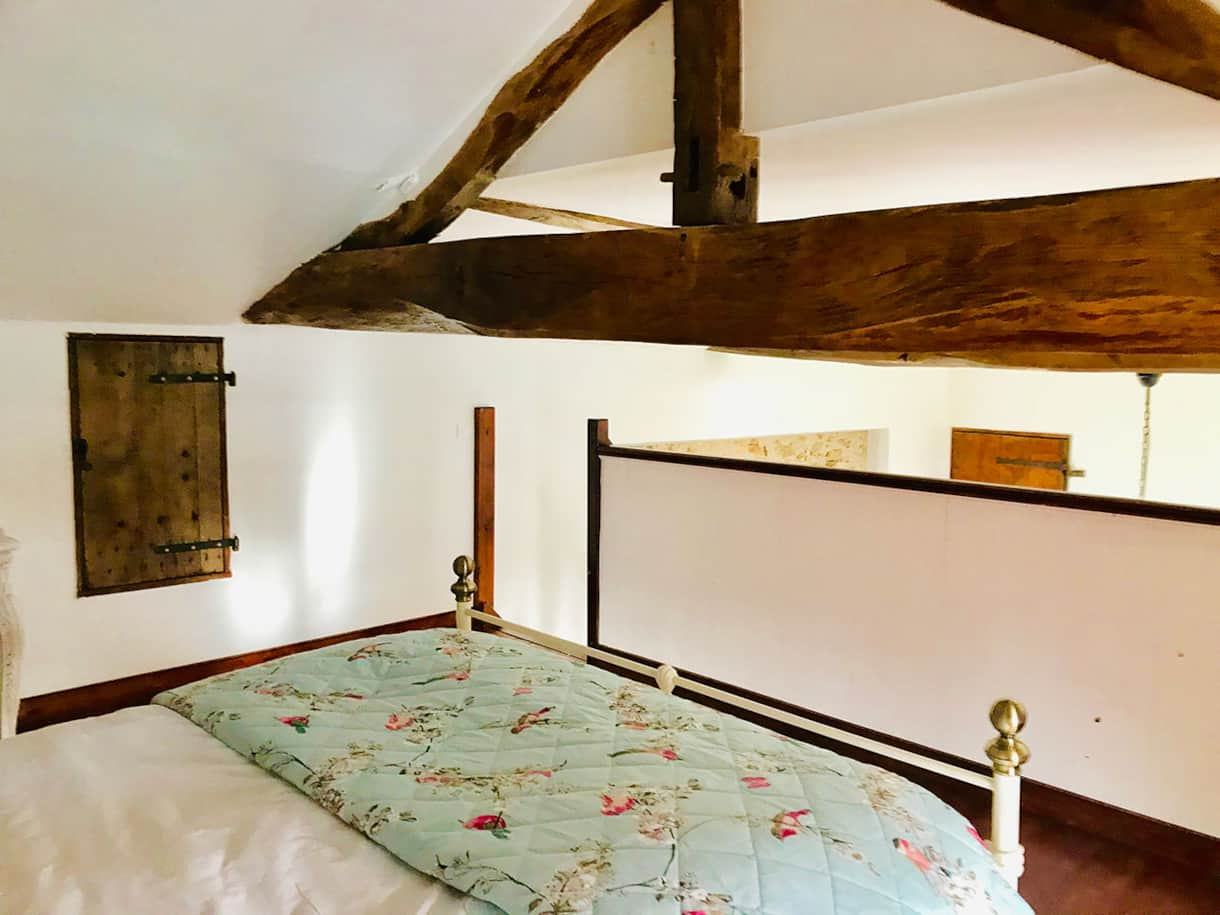 La Blatière - Farmhouse, master bedroom