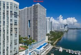 The Grand on located on Biscayne Bay downtown Miami
