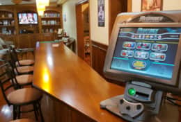 Bar with Mega Touch Gaming Console