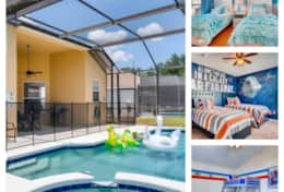 6 Bedroom Pool Home in Windsor Palms Resort