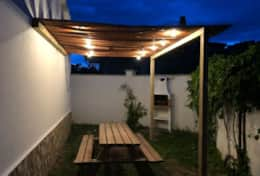 Terrace with barbecue, only Casita 1 and Casita 4