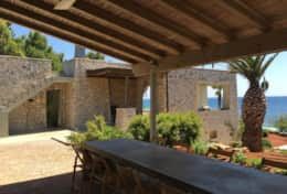 Summer House - furnished outdoor area - Marina di S. Gregorio - Salento