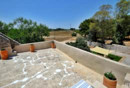 Falco - roof terrace overlooking the garden and property - Ruffano - Salento