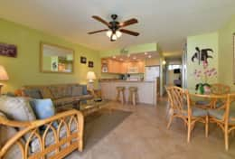 Visit-Maui-Beach-vacation-Papakea-Resort-oceanfront-living-room-dining-room-B110