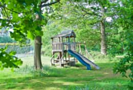 Woodland and play area