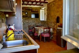 San Martino, one of three kitchens