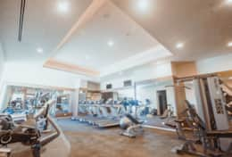 Gym on Terrace Level