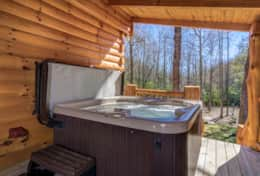 Hideaway at High Rock Hot Tub