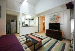 Living Space | Honmachi Cottage| best family stays in Tokyo | Tokyo Family Stays|