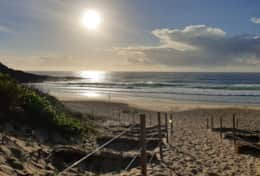 Beach holiday accommodation Forster