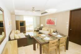 GM 2BR Dining/living area
