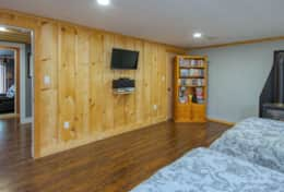 Bedroom there will be a large screen TV with 2 queen beds