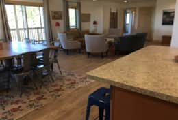 Open Kitchen, Dining and Family Room