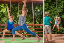Yoga & Jungle Swing, we got something for everyone.
