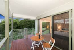 Holiday-Accommodation-Flaxton-House-Master Room Patio 2
